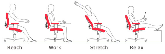 the best office chair for lower back pain computer monitor