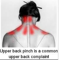 symptoms of the upper back