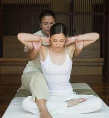 back treatment with thai massage